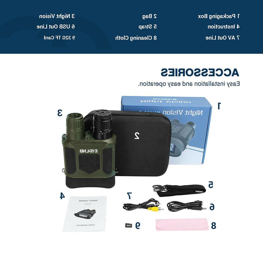 7X31 Binocular IR TFT 32G Card for Hunting