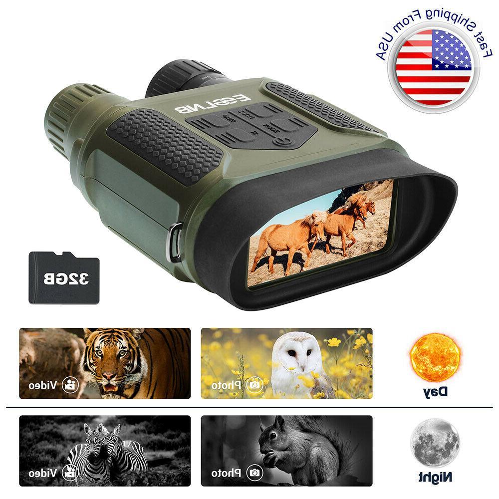 7x31 night vision binocular ir scope