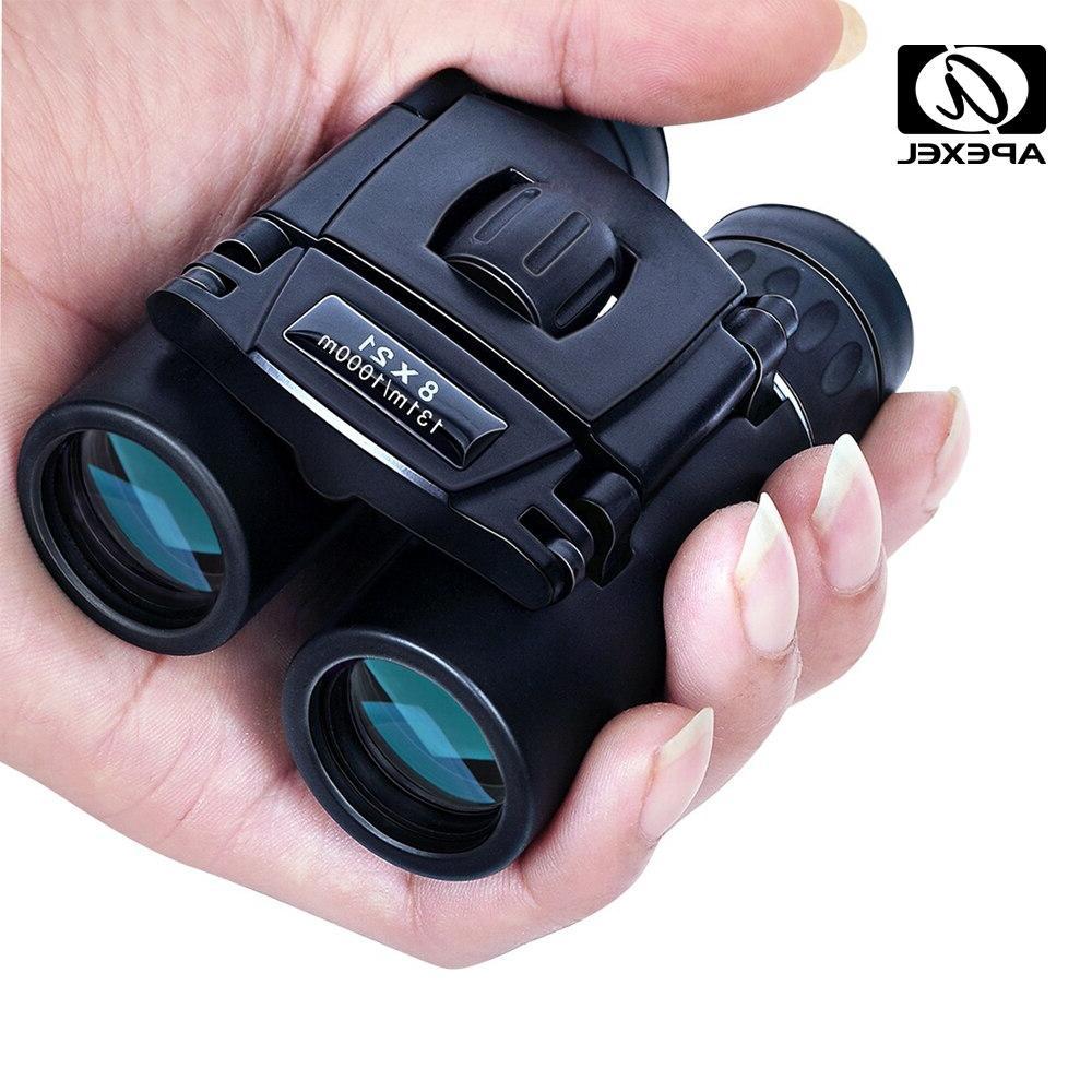 8x21 compact zoom font b binoculars b