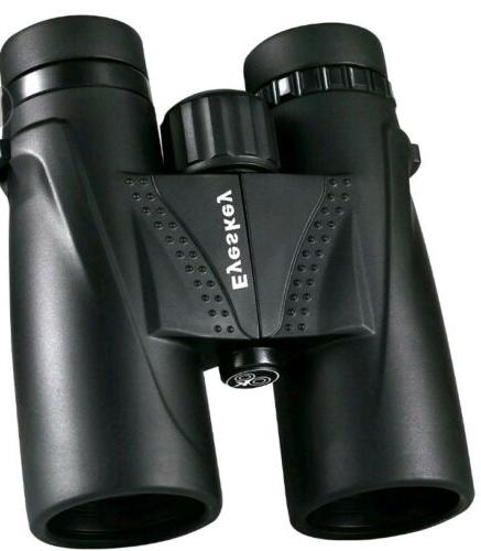 8x42 waterproof binoculars bak4 roof prism telescope
