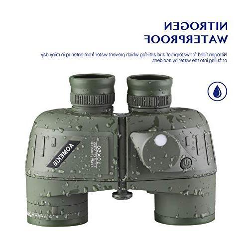 AomekieMarine Military Rangefinder BAK4 Prism FMC for Hunting