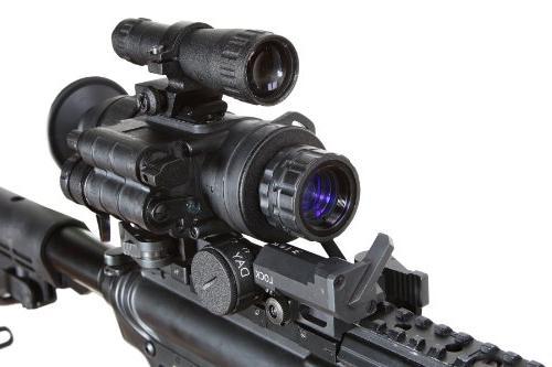 Armasight 2+ ID Multi-Purpose Improved Definition Night Monocular with Manual Gain, Black