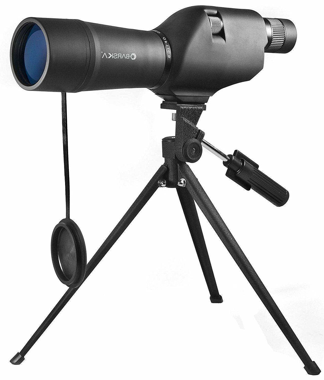 BARSKA 20-60x60 Waterproof Spotting Scope with