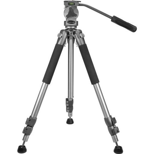 """BARSKA Professional Tripod, Extendable to 66"""" w/ Carrying Ca"""