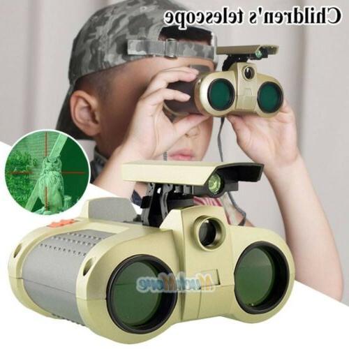 Night Surveillance Binoculars Pop-Up Light Gift Kids