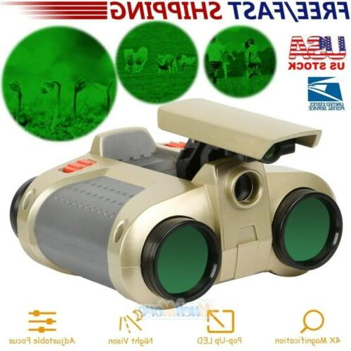 night vision surveillance scope binoculars telescope pop