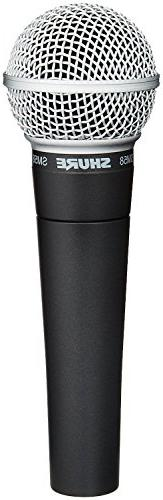 Shure SM58-LC Cardioid Vocal Microphone