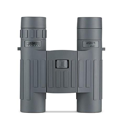 Steiner 10x26 P1026 Binoculars, Grey, 10x26