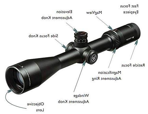 Vortex Viper LR 6-24x50 Focal Plane Riflescope XLR Reticle
