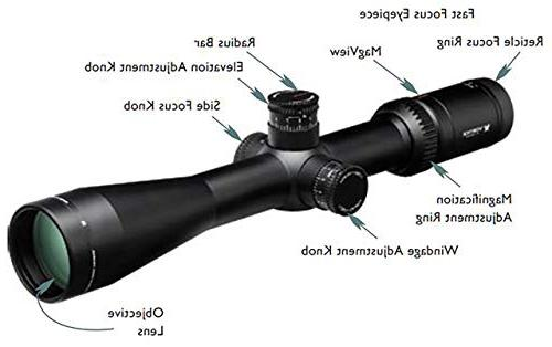6-24x50 SFP Riflescope MOA