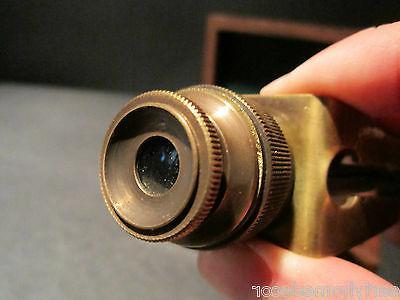 Antique Traveling Binoculars Wood