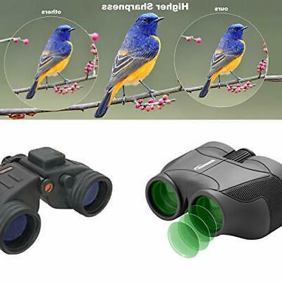 Aurosports HD Binoculars Upgraded Foldable Eyepiece,High