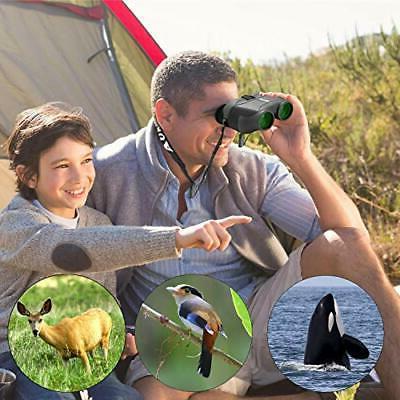 Aurosports 12x25 HD Compact Binoculars Foldable Eyepiece,High
