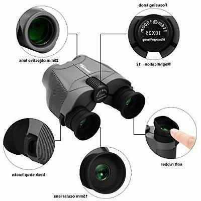 Aurosports Binoculars New Foldable Eyepiece,High