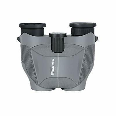 Aurosports 12x25 Compact Binoculars with New Foldable