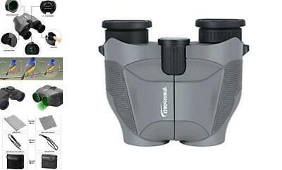 aurosports 12x25 hd compact binoculars with new