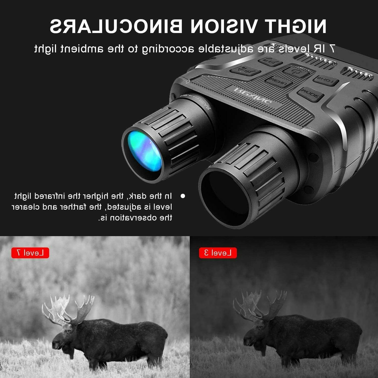 Rexing B1 Infrared Night Vision Screen, Recording