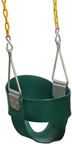 Jungle Gym Kingdom High Back Full Bucket Toddler Swing Seat
