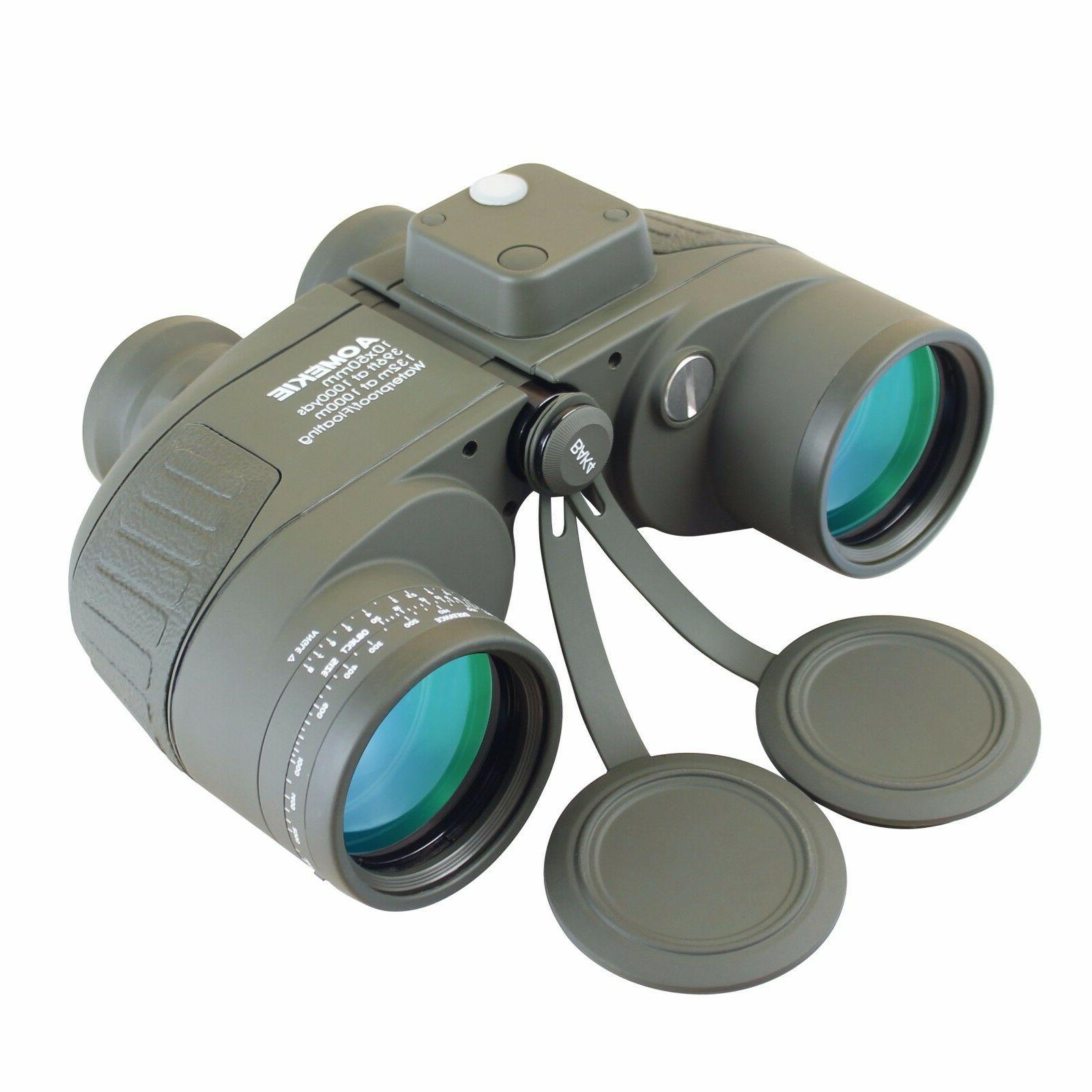 BAK4 10X50 LLL Night Vison Hunting Binoculars Waterproof W/