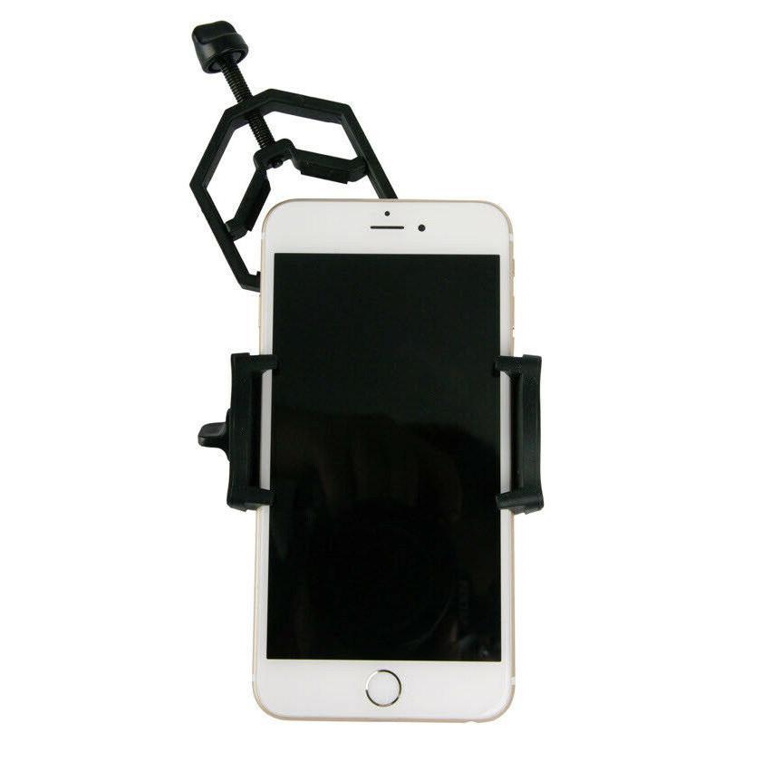 binocular and tripod adapter smartphone clamp holder