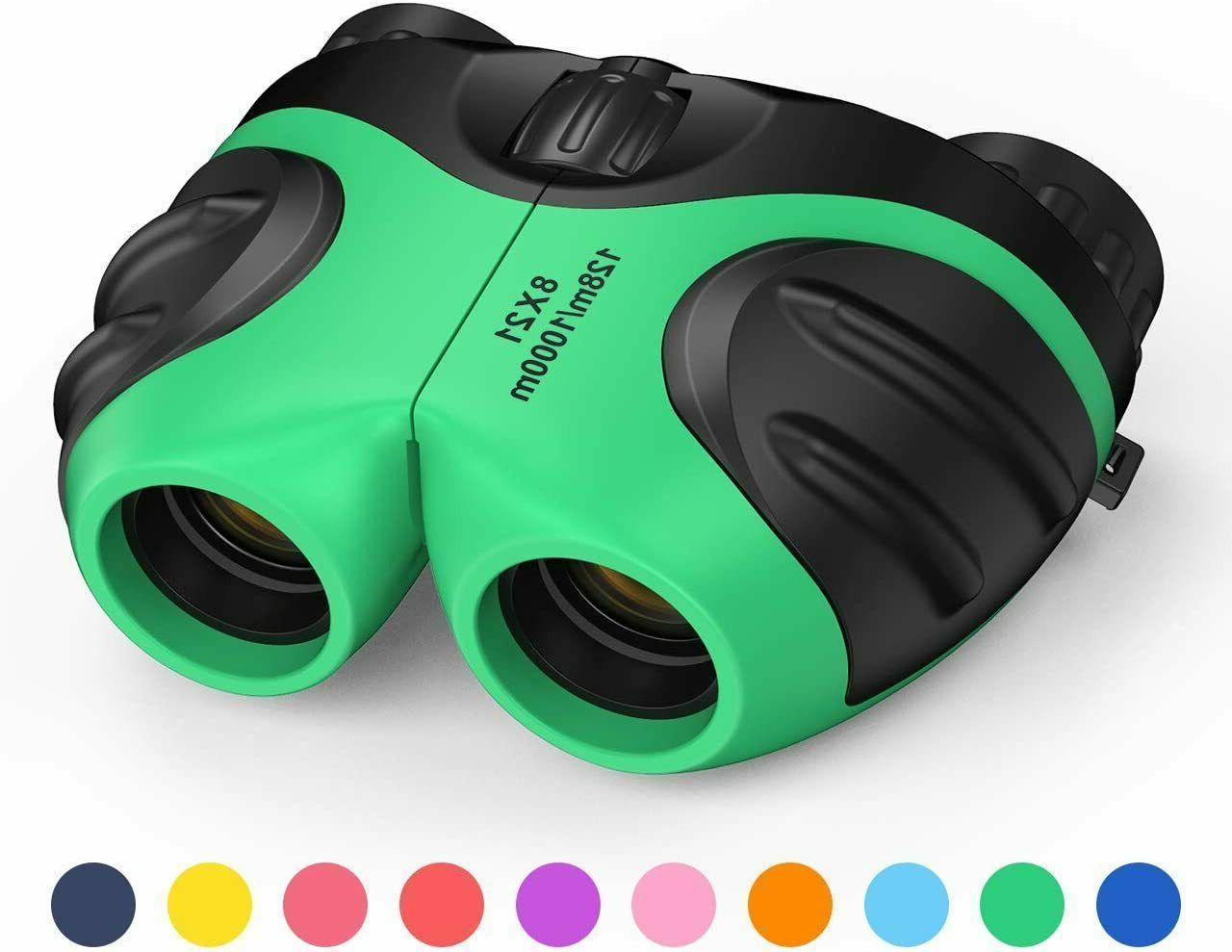 binocular for kids compact shockproof 8x bird