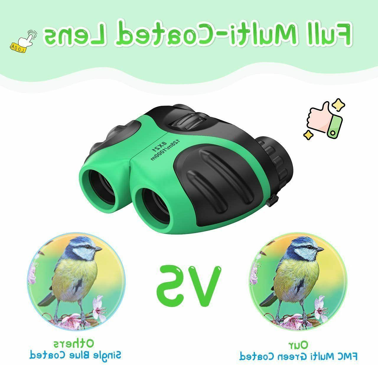 Binocular for Kids Compact Shockproof Bird Watching Toys Resolution