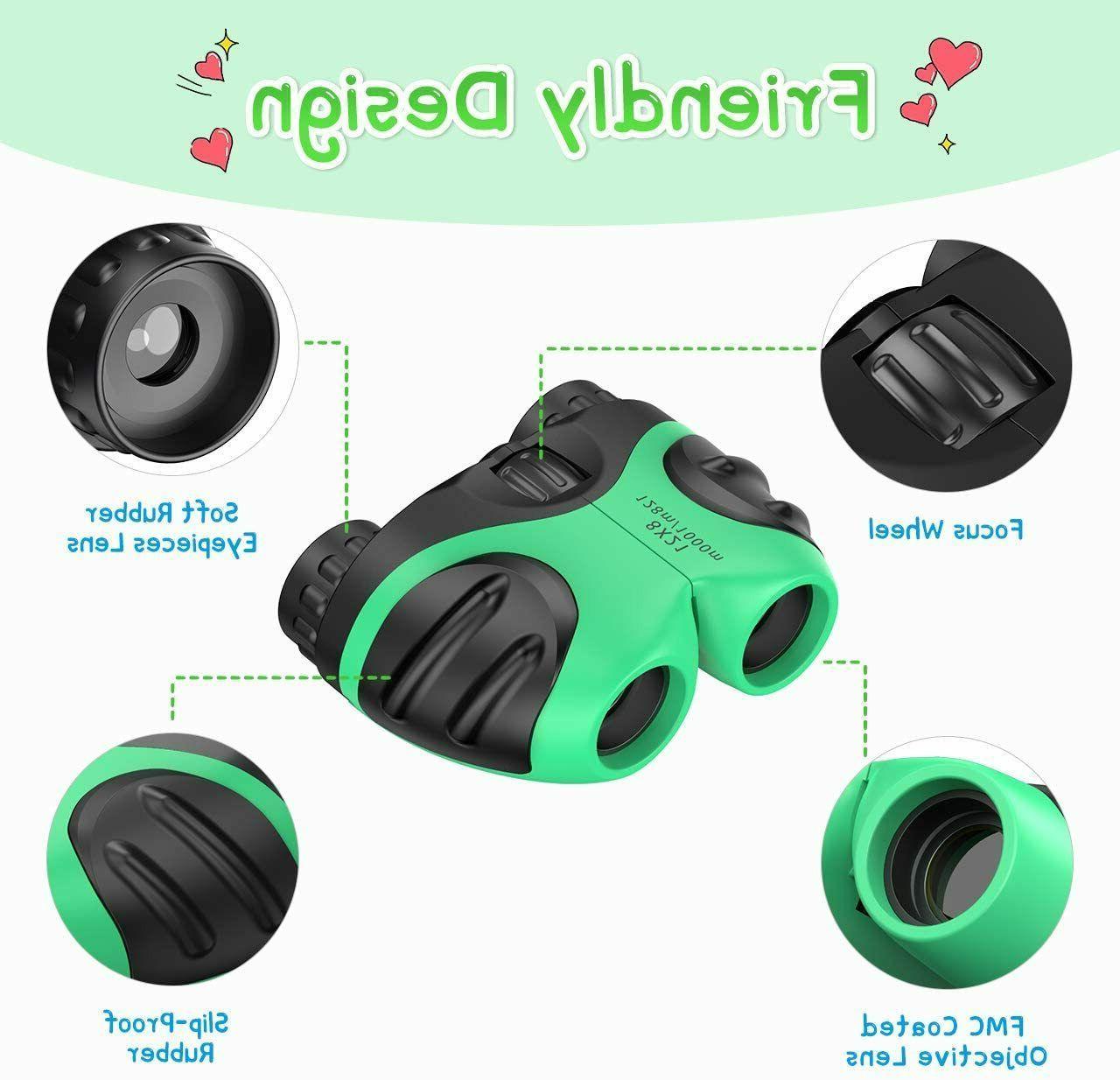 Binocular Kids Compact Shockproof Toys High Resolution