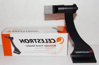 CELESTRON BINOCULAR TRIPOD ADAPTER.  NEW IN BOX.