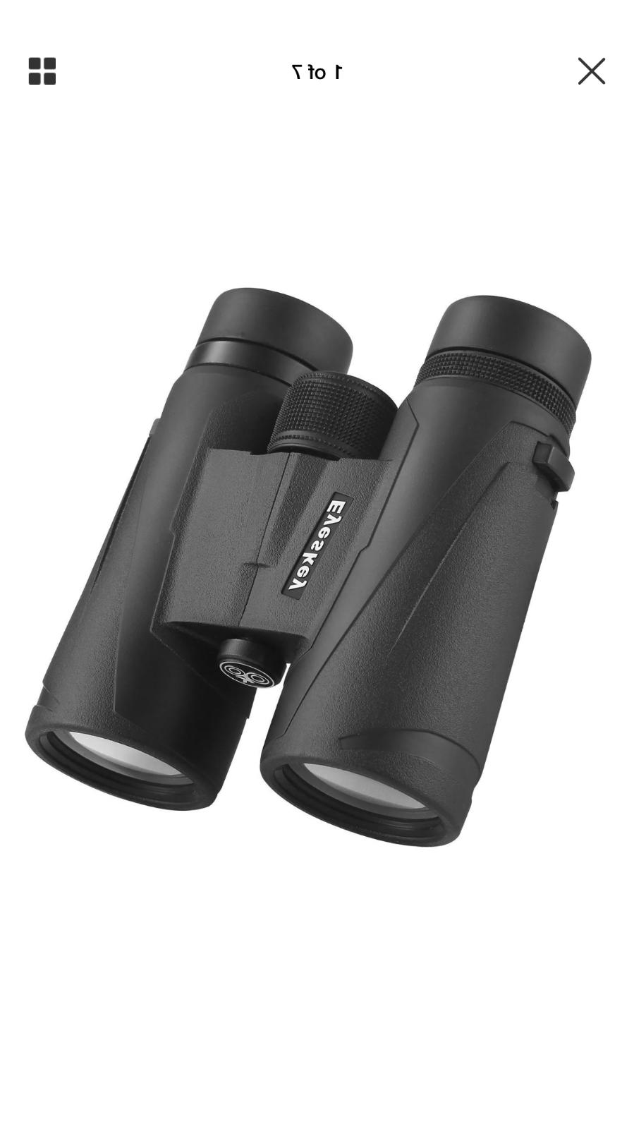 binoculars 10x42 hunting binocular waterproof with neck