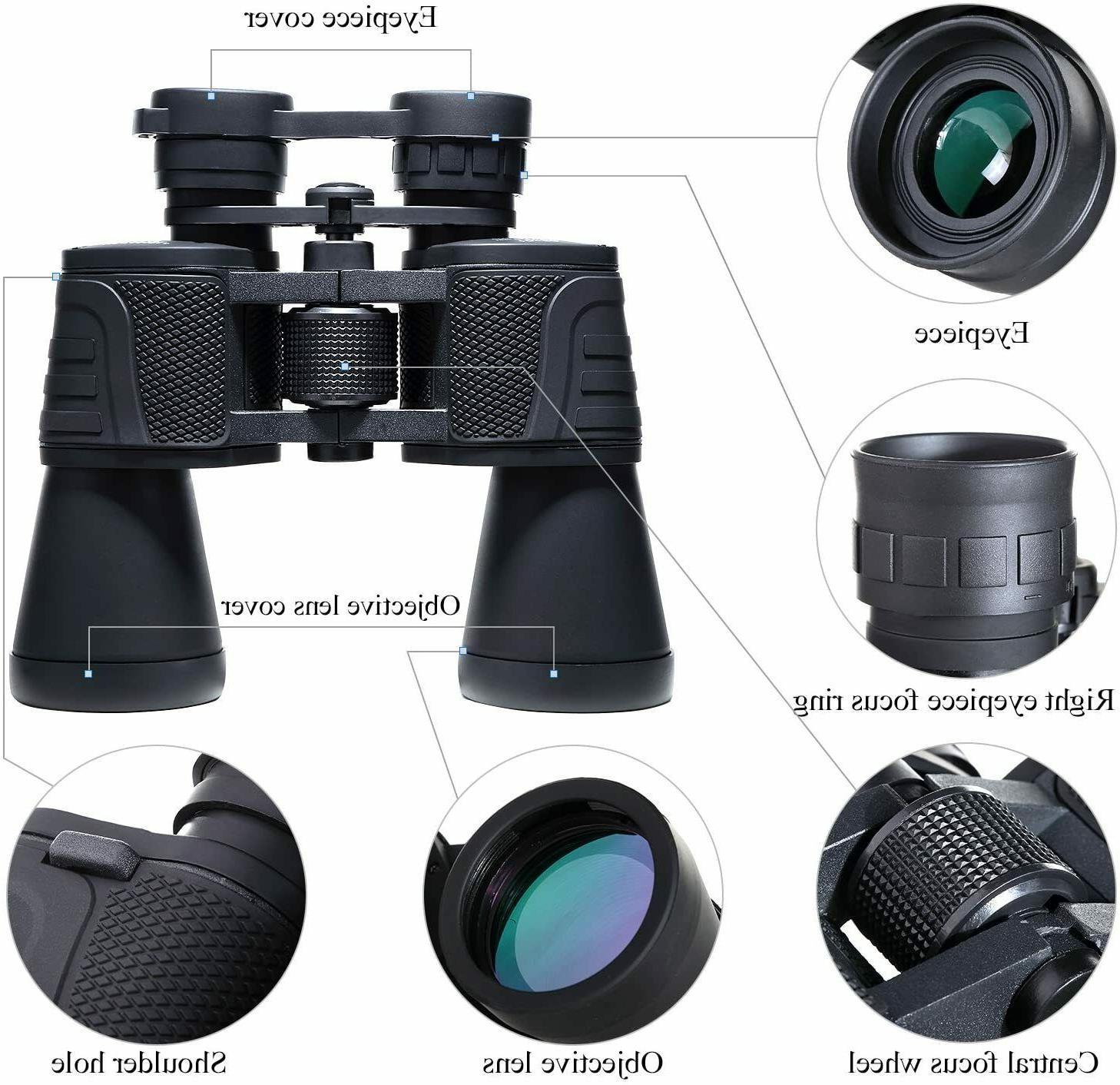 USCAMEL Binoculars 10x50