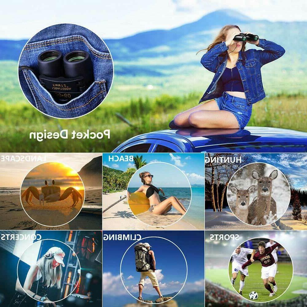 Binoculars 30x60 Zoom Travel Folding Hunting