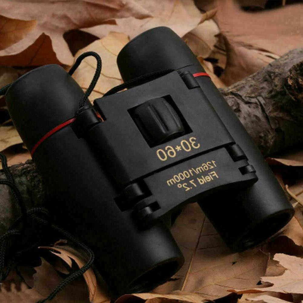 Binoculars Zoom Travel Compact Folding Hunting Day/Night