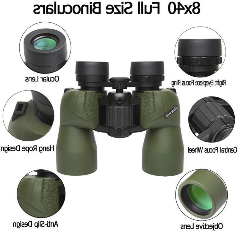 Gskyer Binoculars, Prism Binoculars HD