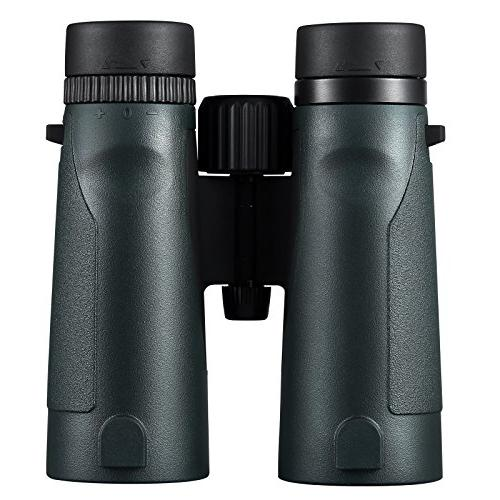 Eyeskey 10x42 Magnification Binoculars Bright and Range of View and with Strap, Green