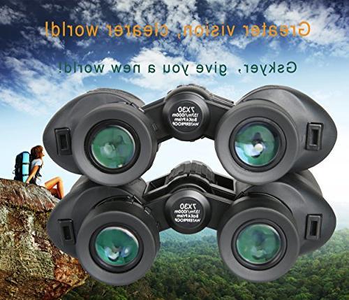 Binoculars,7x30 Prism Porro Binoculars