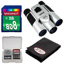 Vivitar 10x25 Binoculars with Built-in Digital Camera with 8