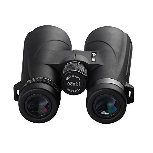 12x50 Adults, Ultra HD with BAK-4 Prisms and Lens for Hiking Games