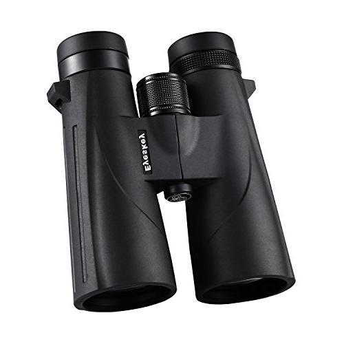 12x50 Waterproof Binoculars Adults, BAK-4 Prisms Lens Stargazing, Hunting, Hiking Sports Games with Carrying Clean Cloth Lens