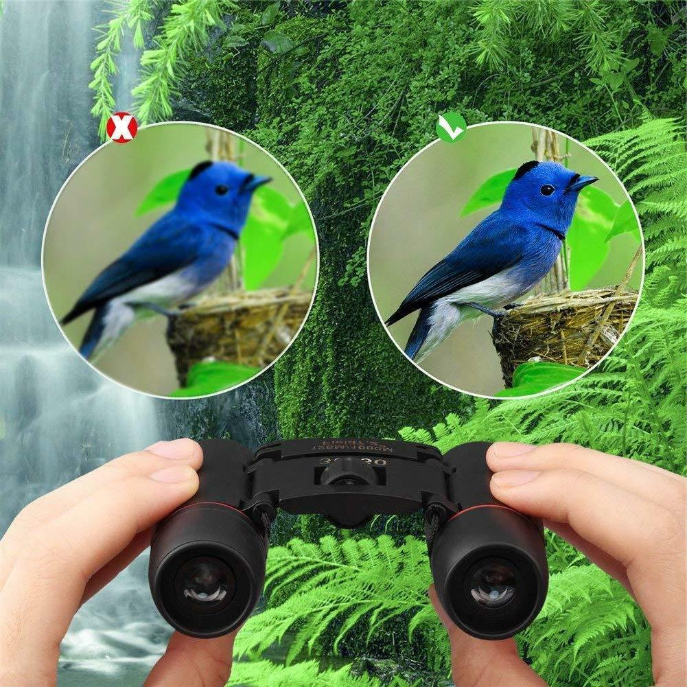 Binoculars Bird Compact Small Travel Outdoor