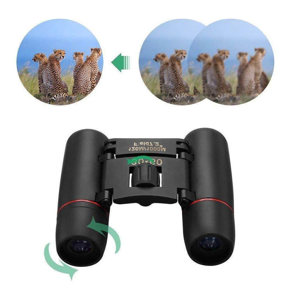 Binoculars Compact Small Birding Travel