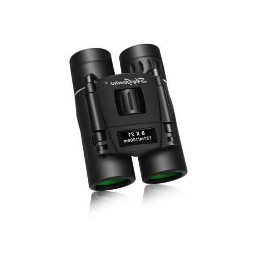 Binoculars Small Compact Lightweight Skygenius 8x21 Concert