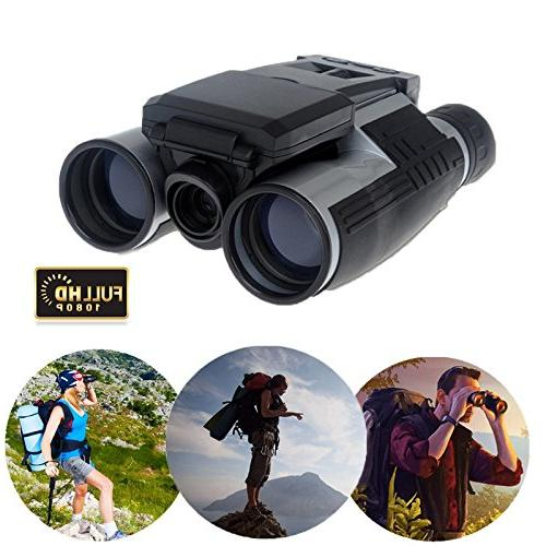 Telescope LCD Display Video Photo Recorder 8GB Micro SD for Game Concert