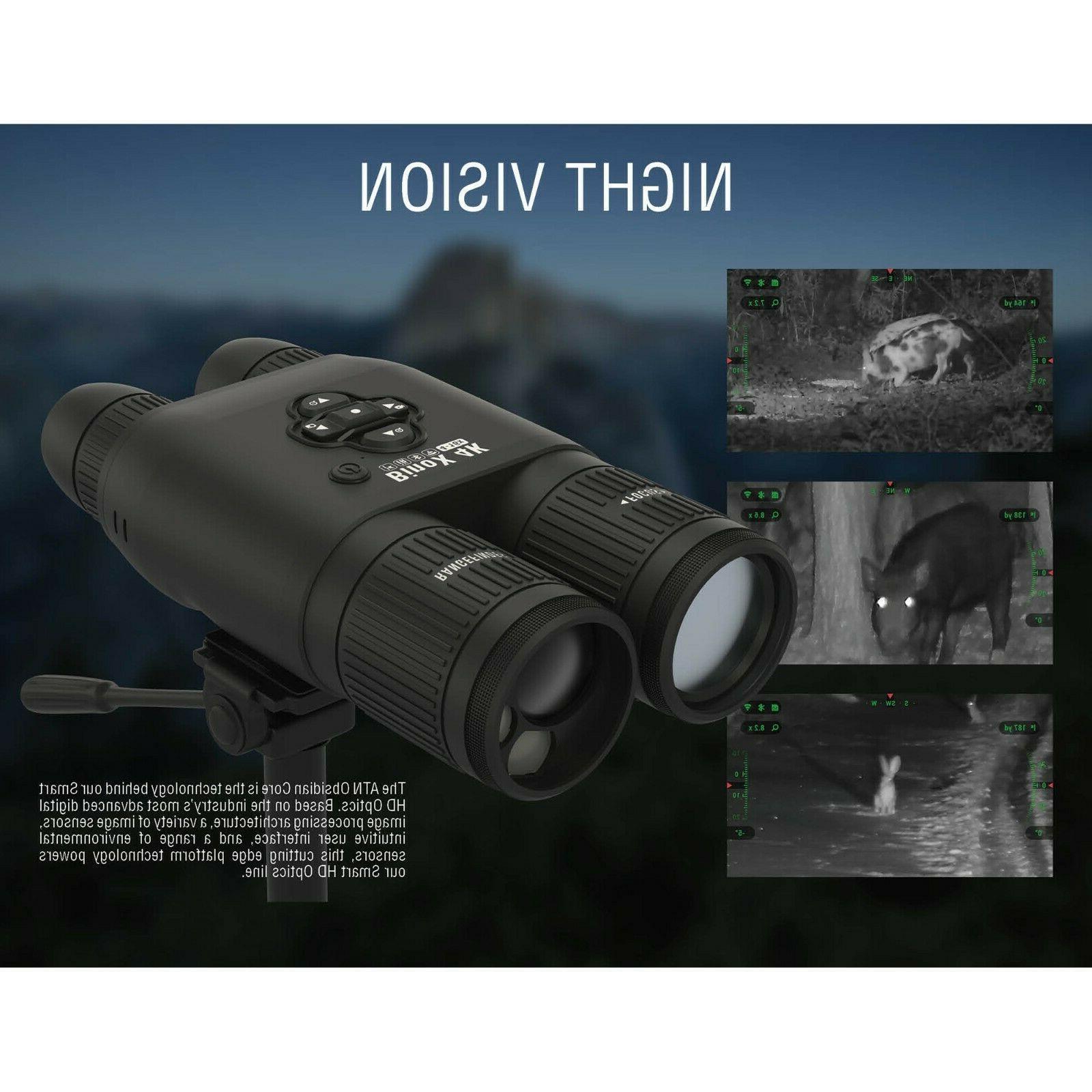 ATN 4-16X Smart Day/Night Laser range Full HD