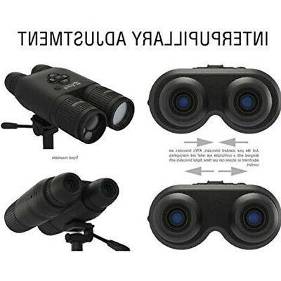 ATN Binox 4K Smart Ultra Binoculars with Laser Rangefinder
