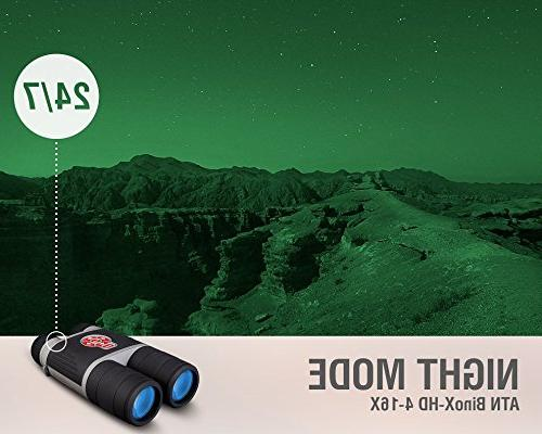 ATN 4-16 Smart Night Image Stabilization, Android