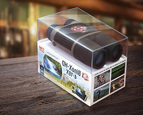 ATN BinoX Binocular w/ Night Mode, GPS, Image IOS and Android Apps