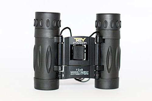 YST PRODUCTS 8x21 Real Binoculars for Compact Binoculars, Binoculars Boys and Girls Binoculars