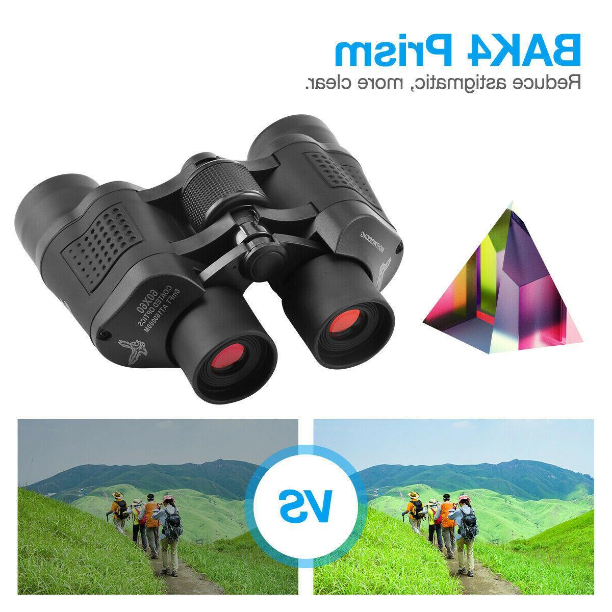 60X60 HD Binoculars Travel