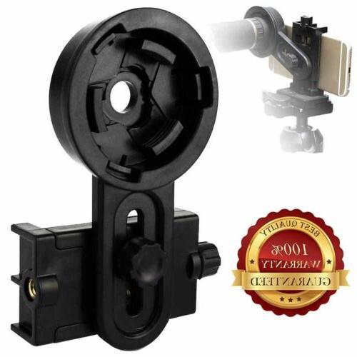 cell phone holder adapter mount binocular monocular