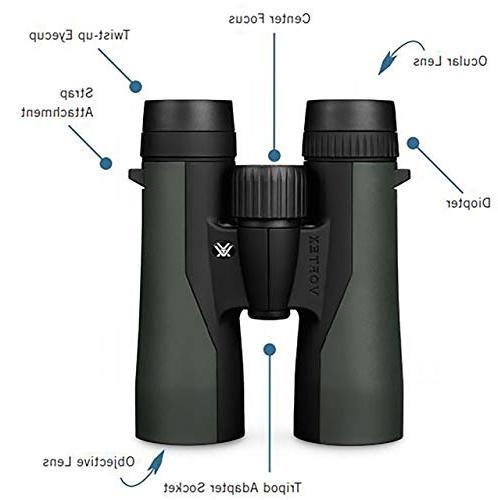 Vortex Optics Prism Binoculars 10x50
